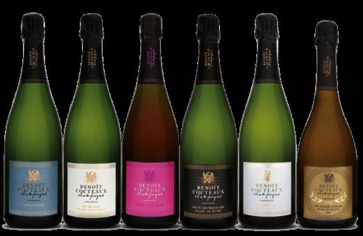 De prijswinnende champagnes van Benoît Cocteaux